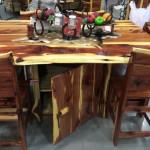 DTCS6C=Dining Table-Cedar-Storage-6 Cedar Chairs