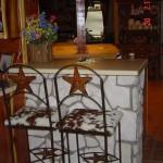 BCSCHS-Bar Chair-Star-Cowhide Seat-$150 Each
